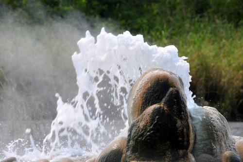 hot springs in semliki national park